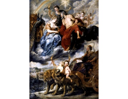 VRU112 Peter Paul Rubens - Setkání Marie de Medici a Jindřicha IV v Lyonu