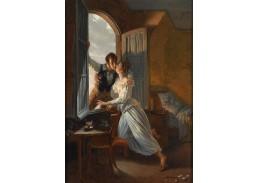 Krásné obrazy II-104 Jean Baptiste Lecoeur - Tajná schůzka