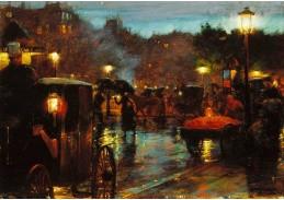 DDSO-3599 Charles Courtney Curran - Noční Paříž
