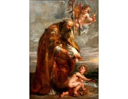 VRU75 Peter Paul Rubens - Svatý Augustín