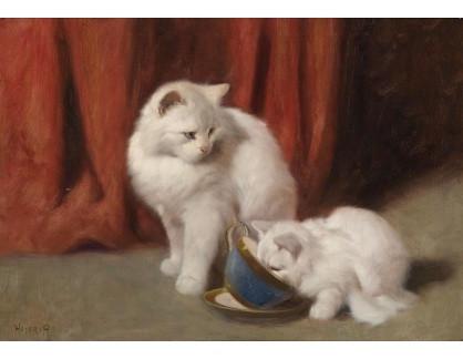 Slavné obrazy XVI-270 Arthur Heyer - Čas na čaj