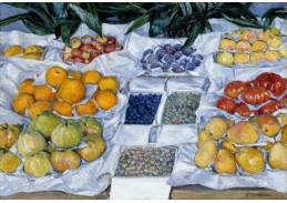Slavné obrazy X-510 Gustave Caillebotte - Zátiší s ovocem