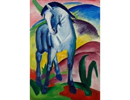 Obraz VFM 4 Franz Marc - Modrý kůň
