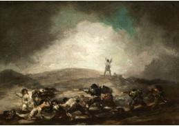 D-6285 Francisco de Goya - Válečná scéna