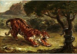 D-7165 Eugene Delacroix - Tygr a had