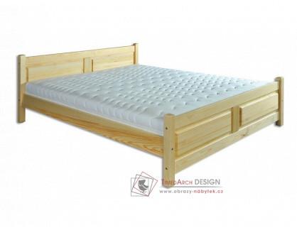 KL-115, postel 140x200cm, borovicový masiv