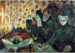 VEM13-10 Edvard Munch - Na smrtelné posteli
