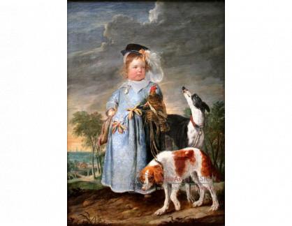 VH637 Erasmus Quellinus a Joannes Fijt - Portrét chlapce