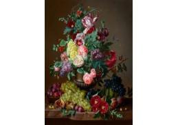 DDSO-4363 Amalie Kaercher - Zátiší s květinami a ovocem