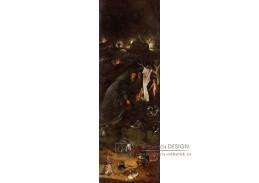 D-6326 Hieronymus Bosch - Triptych svatých, levý panel