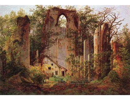 VSO 540 Caspar David Friedrich - Zřícenina kláštera Elden