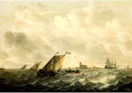 A-568 Abraham van Beijeren - Provoz na moři