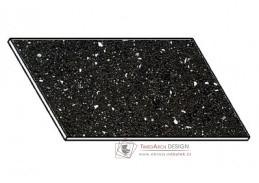 Kuchyňská pracovní deska 90 cm ANDROMEDA černá