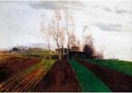 A-603 Arnold Böcklin - Orná pole brzy na jaře