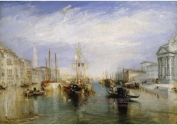 D-6240 Joseph Mallord William Turner - Grand Canal v Benátkách