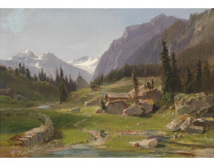 VRAK-65 Ludwig Halauska - Idylická horská krajina