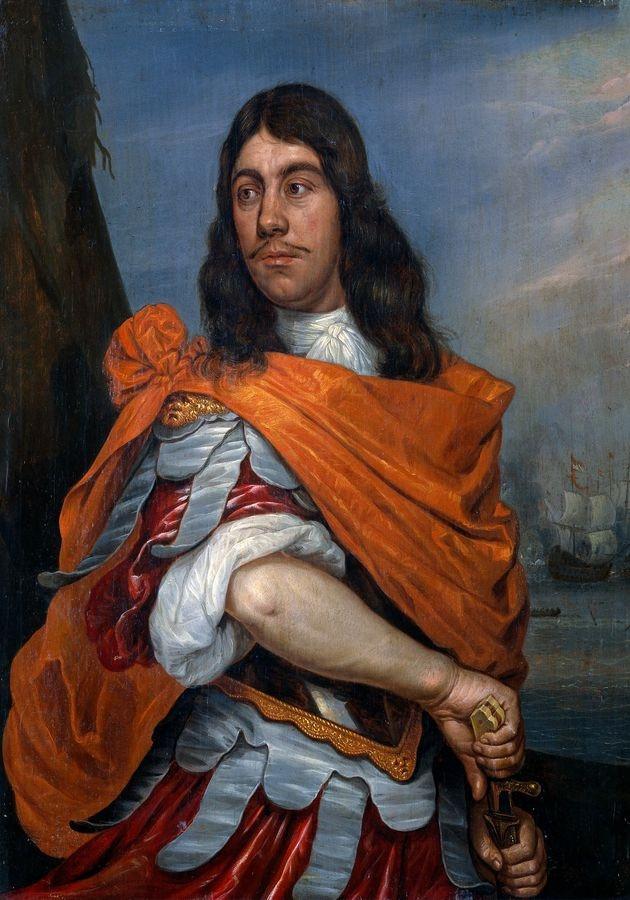 VH567 Abraham Evertsz van Westerveld - Cornelis Tromp v římském oděvu