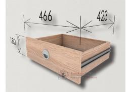 CORA, zásuvky ke skříni - sada 2ks, dub sonoma