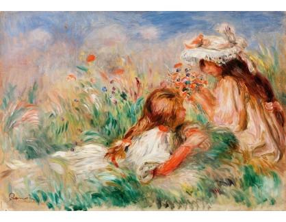 D-6813 Pierre-Auguste Renoir - Dívky v trávě