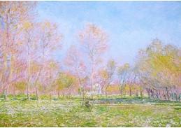 Claude Monet - Jaro v Giverny, 60x40cm