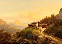 D-9523 Josef Thoma - Horská krajina v Impostante