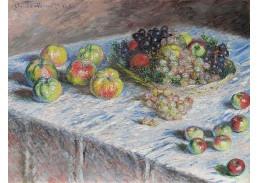 R8-101 Claude Monet - Zátiší s jablky a hrozny