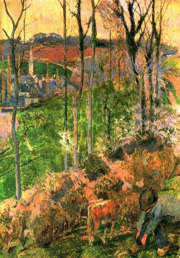 R9-135 Paul Gauguin - Bretaňský chlapec