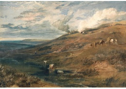 Joseph Mallord William Turner -  Dartmoor
