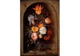 DDSO-1893 Ambrosius Bosschaert - Květinové zátiší s motýlem