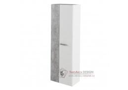 SIMA, skříň, bílá / beton