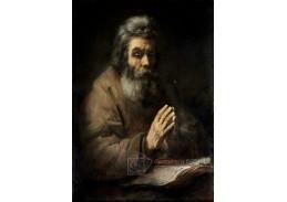 D-8054 Rembrandt - Starší muž při modlitbě