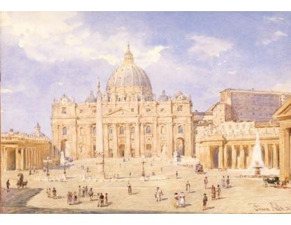 VALT 48 Franz Alt - Náměstí svatého Petra v Římě