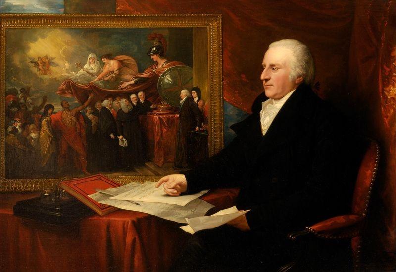 Slavné obrazy XI-105 Benjamin West - John Wilmot Eardley