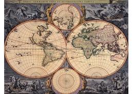 Obraz mapa VM 07