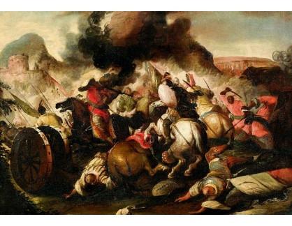DDSO-3174 Antonio Calza - Bitevní scéna
