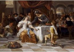 DDSO-3721 Jan Steen - Antonius a Kleopatra