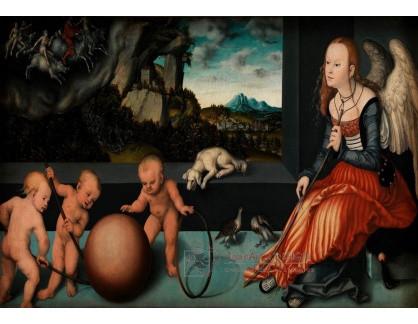VlCR-200 Lucas Cranach - Melancholie