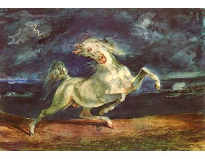VEF 30 Eugene Ferdinand Victor Delacroix - Kůň polekaný bleskem