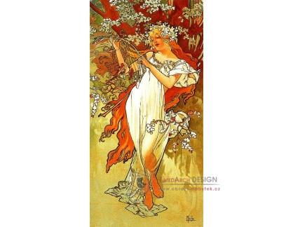 VAM105 Alfons Mucha - Spring