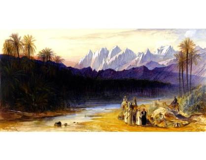 VP375 Edward Lear - Arabská krajina s postavami