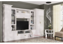TRIUMF, obývací sestava nábytku, jasan angkor světlý