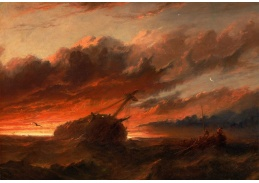 Slavné obrazy III-1 Francis Danby - Vrak