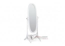20124 WT, zrcadlo stojací, bílá