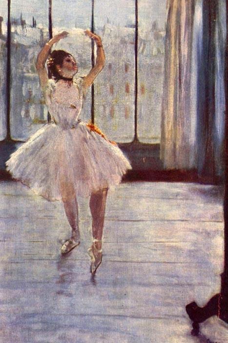 R6-149 Edgar Degas - Tanečnice před oknem
