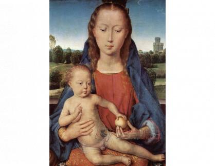 VH668 Hans Memling - Madonna s dítětem