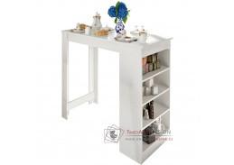 AUSTEN, barový stůl, bílá