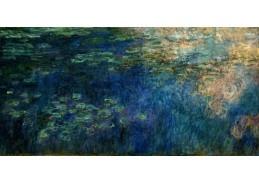 A-263 Claude Monet - Odrazy mraků na leknínech