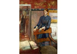 A-163 Edgar Degas - Helene Rouart