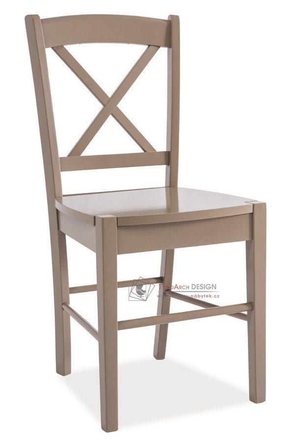 Jídelní celodřevěná židle CD-56 hnědá