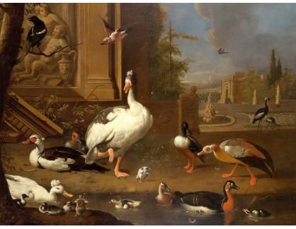 KO III-273 Melchior de Hondecoeter - Ptáci v parku
